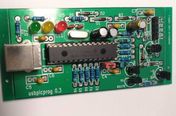 Usbpicprog circuito gravador de microcontrolador pic usb