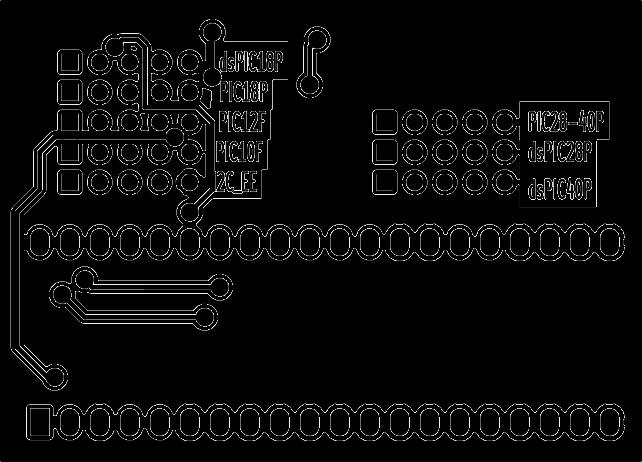 UsbPicProg gravador pic, UsbPicProg circuito gravador de microcontrolador PIC USB