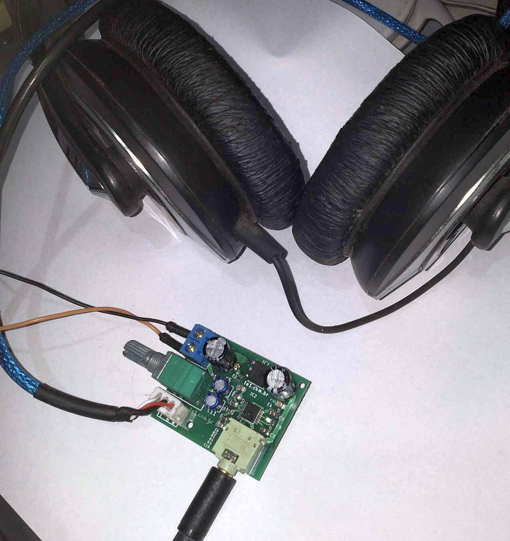 amplificador para fones de ouvido estéreo (stereo headphone drive) max4410