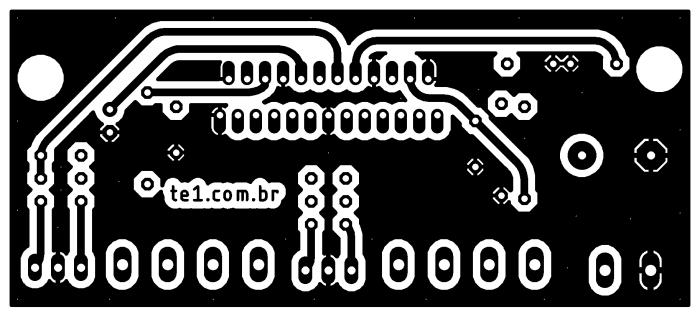 , Circuito amplificador com CI TDA7850 TDA7388 ou equivalente