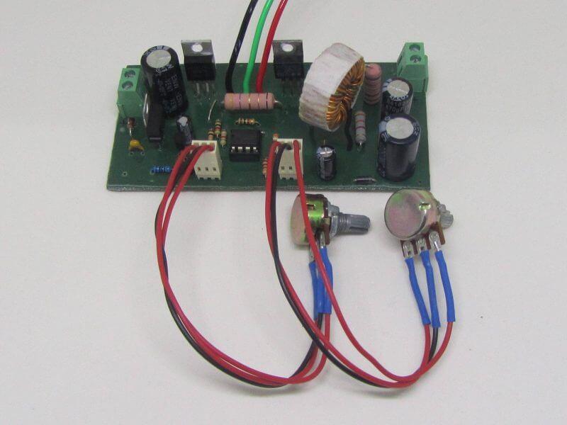 Circuito De Fonte Ajustável Com Ci Lm2576 + Transistor - 5A