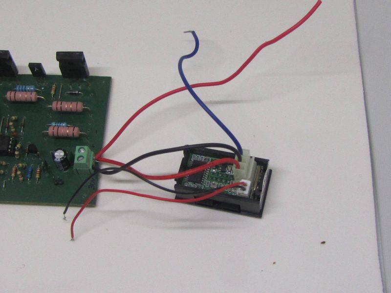 Fonte De Aliemntação Utilizando Circuito Integrado Lm723 Ligação De Módulo Voltímetro/Amperímetro