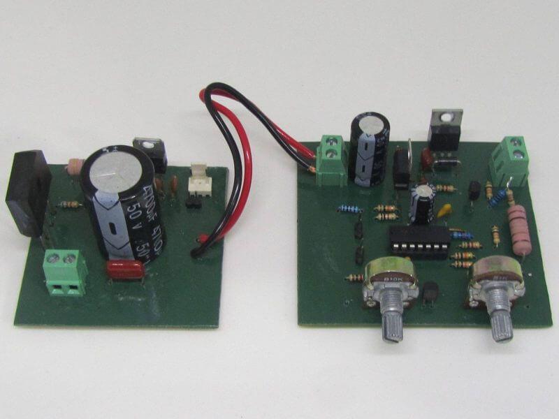 Fonte De Tensão E Corrente Com Lm324 + Transistores Mosfets