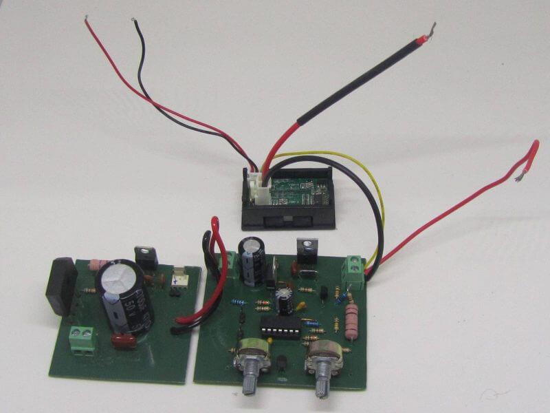 Fonte De Tensão E Corrente Com Lm324 Verasão Com E Transistores Mosfets Ligação Voltímetro Ampeímetro
