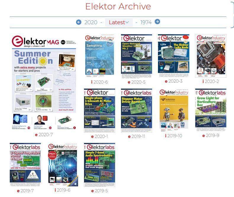 elektor magazine pdf gratis