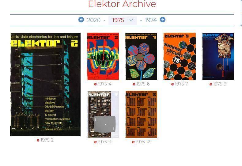 revista elektor pdf gratis antigas elektor labs