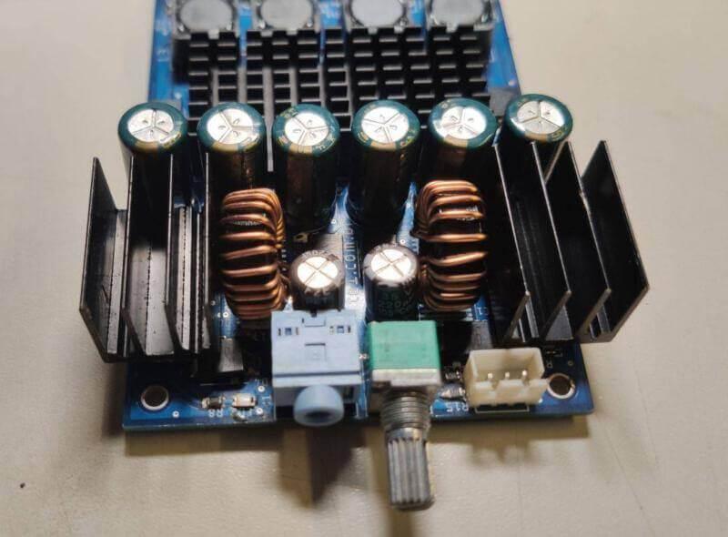 Tpa3116 - placa mini amplificador potência