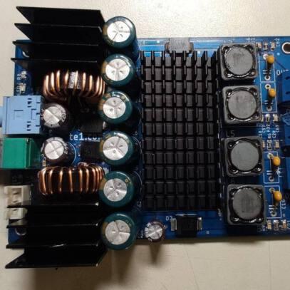 TPA3116 – Placa mini amplificador potência