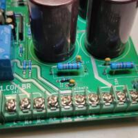 Fonte upc1237 amplificador