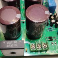 Fonte upc1237 amplificador ponte retificadora