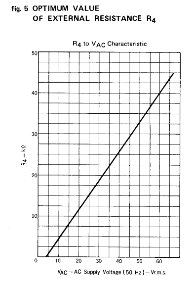 Upc1237 fonte simétrica amplificador gráfico resistor no pino4