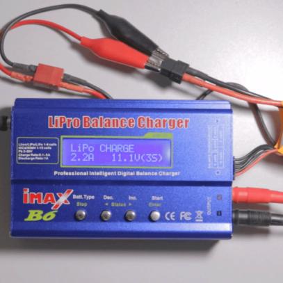 Carregador de bateria imax b6