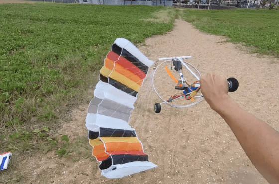 Trike 2 paraglider vídeos paraglider rc