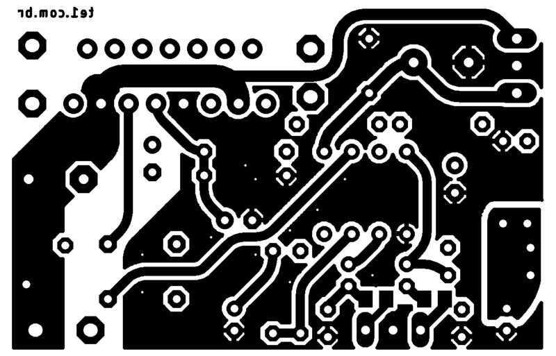 Bottom-layer pcb tda7379 amplificador pdf