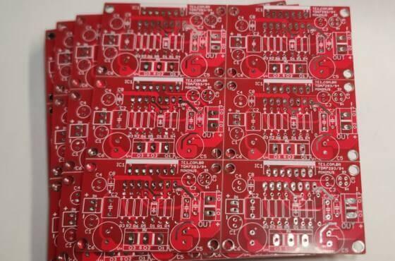 Placa circuito impresso jlcpcb pcb tda7294 jlcpcb desenho placa (pcb) jlcpcb encomendar e receber pcb no brasil em 2021