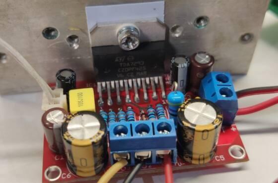 Placa Circuito Impresso Jlcpcb Pcb Tda7294 Prototipo