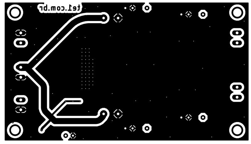 Tpa3116 tpa3118 tpa3130 amplificador placa parte inferior