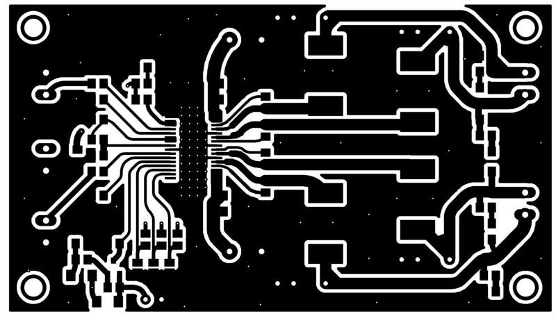 Tpa3116 tpa3118 tpa3130 amplificador placa top-layer