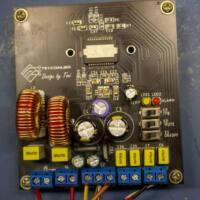 Placa circuito impresso tda8954 amplificador tda8954 circuitos tda8953 tda8954 amplificador potência classe d 420w