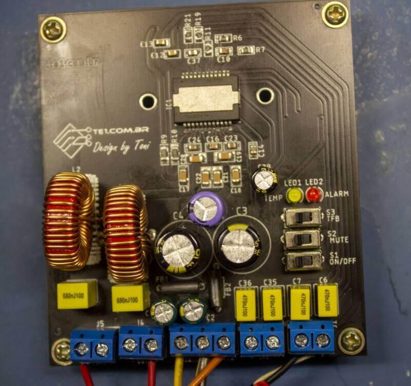 Placa circuito impresso tda8954 amplificador placas de circuito impresso dicas quais produtos usam placas de circuito impresso?