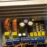Placa montada amplificador classe d tda8954