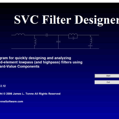 Download svc filter filtros passa baixo e passa alta design e análise