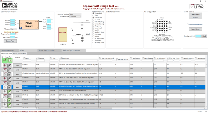 Ltpowercad 2 design tool