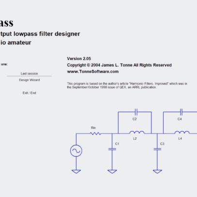 Download optlowpass – filtro passa baixa transmissor