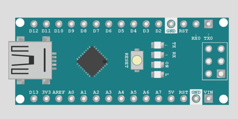 Simulador Arduino Online Wokwi - Arduino Nano