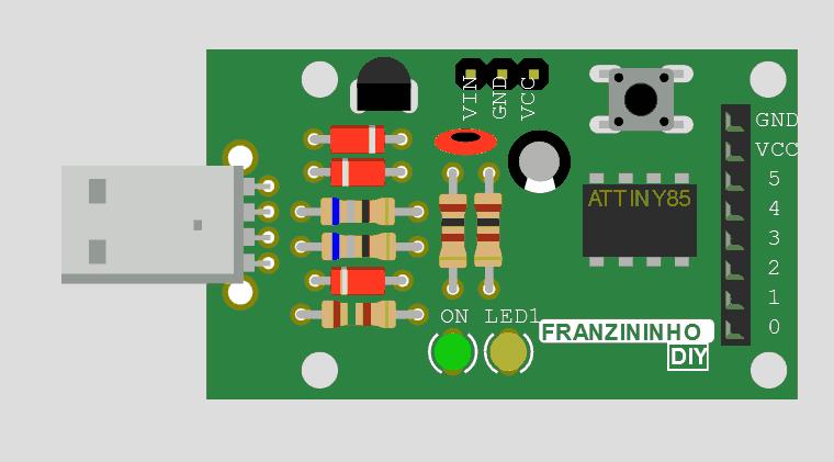 Simulador Arduino Online Wokwi - Franzininho Diy