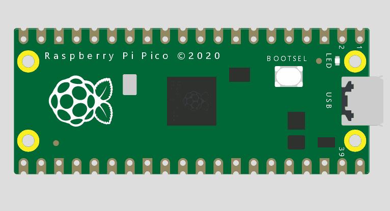 Simulador Arduino Online Wokwi - Raspberry Pi Pico