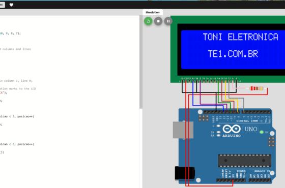 Simulador Arduino Online Wokwi - Uno
