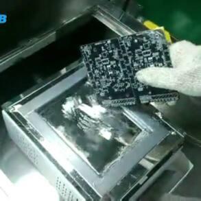 Matéria-prima utilizada pela JLCPCB – 1º Video de teste