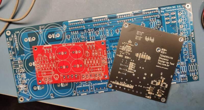 Jlcpcb placa de circuito impresso